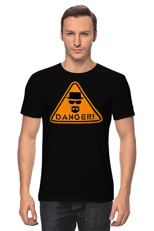 Футболка классическая Printio Danger! футболка print bar danger toxic