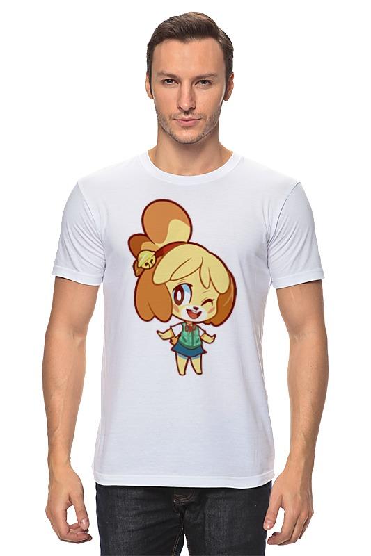Футболка классическая Printio Изабель (приходи в лес животных) футболка wearcraft premium printio изабель приходи в лес животных