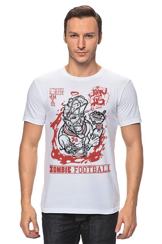 Футболка классическая Printio Zombie football
