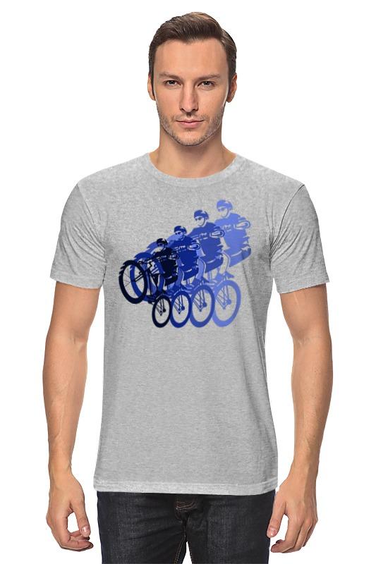 Футболка классическая Printio Велосипедисты printio футболка стрэйч