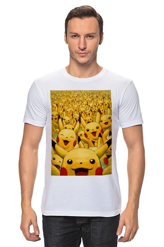 Футболка классическая Printio Pokemon go by k.karavaev блокнот printio pokemon go