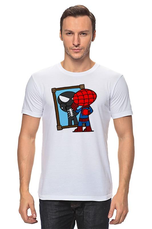 Футболка классическая Printio Человек паук академия групп пенал человек паук