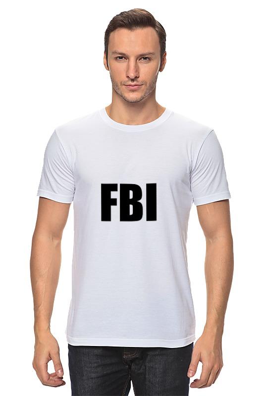 Футболка классическая Printio Fbi фбр футболка классическая printio fbi фбр