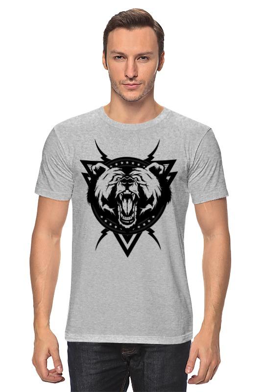 Футболка классическая Printio Злой медведь