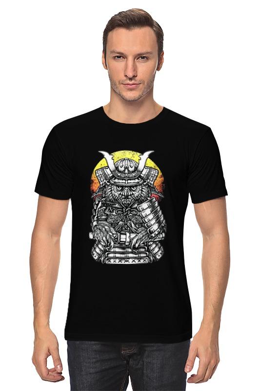 Футболка классическая Printio Owl samurai / сова самурай
