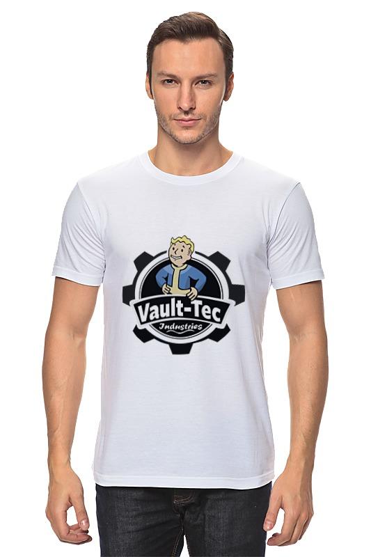 Футболка классическая Printio Fallout  vault-tec футболка классическая printio fallout фэллаут