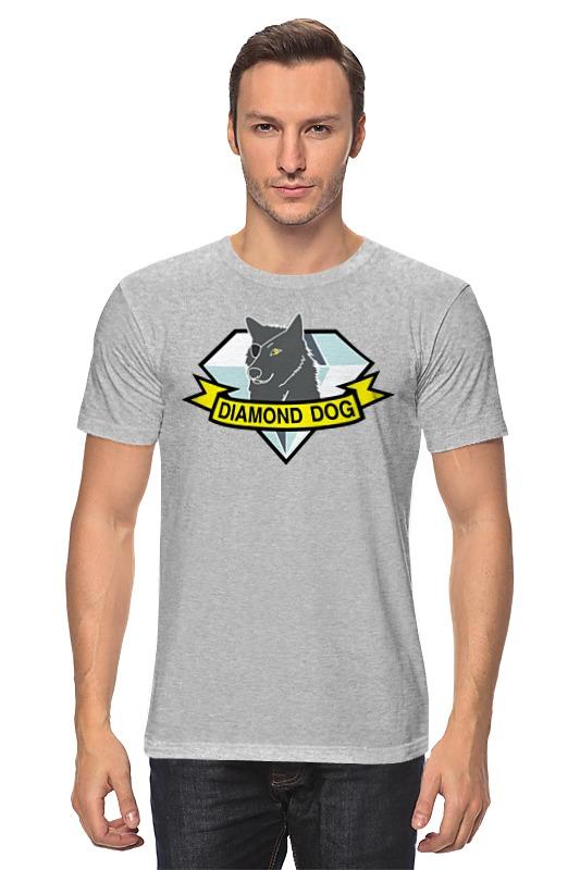 все цены на Футболка классическая Printio Diamond dogs (metal gear solid)