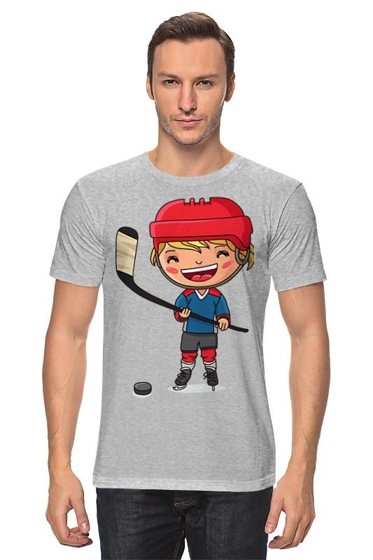 Футболка классическая Printio Хоккеист футболка классическая printio панда хоккеист