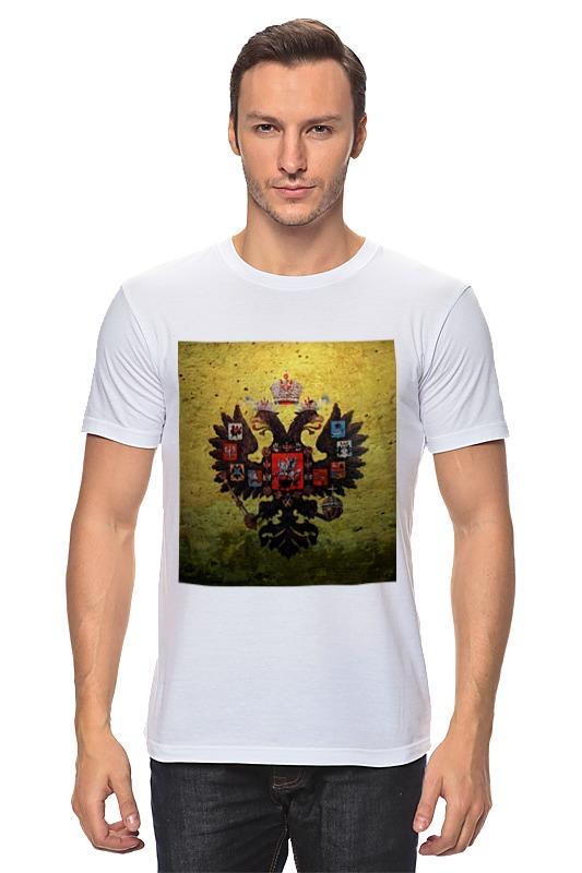 Футболка классическая Printio Госуда́рственный герб росси́йской федера́ции футболка для беременных printio госуда́рственный герб росси́йской федера́ции