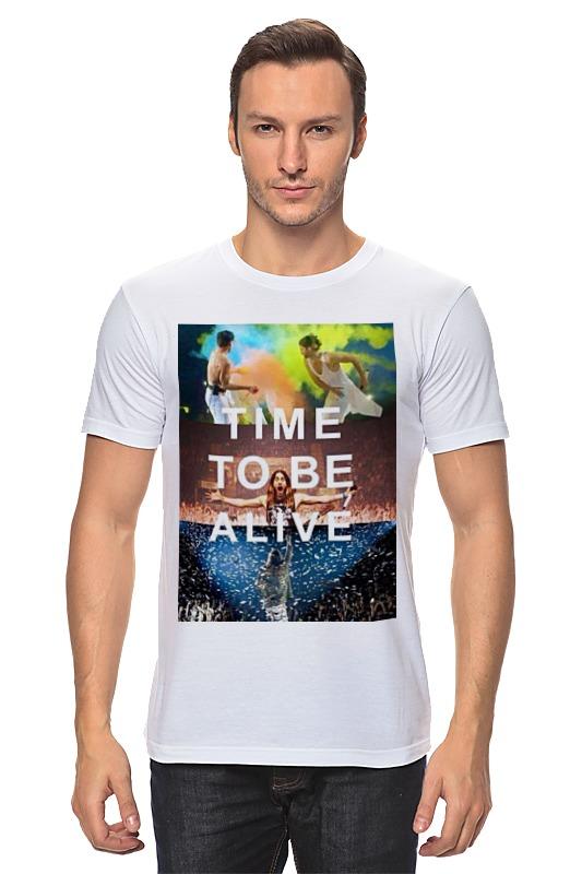Футболка классическая Printio Time to be alive