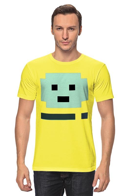 Футболка классическая Printio Бимо (bmo) футболка рингер printio game boy bmo