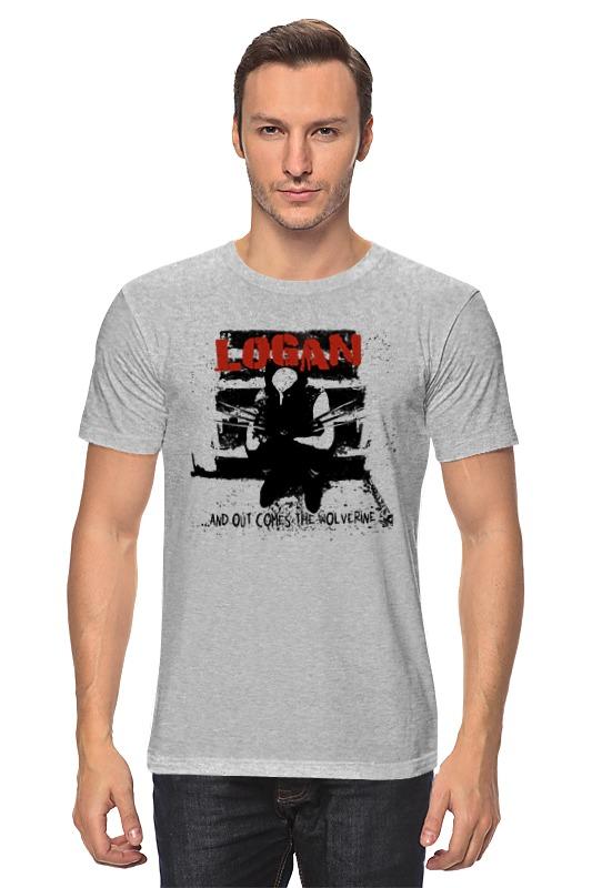 Футболка классическая Printio Logan цены онлайн