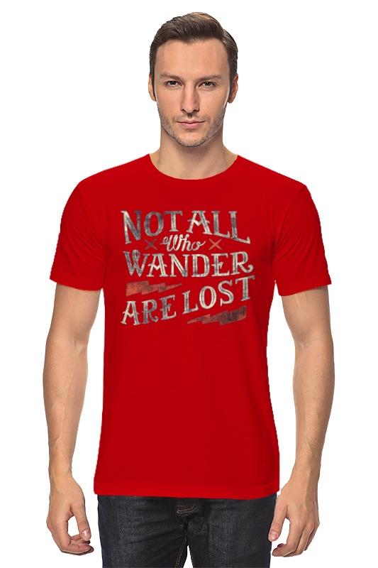 Футболка классическая Printio Nottal who wander are lost