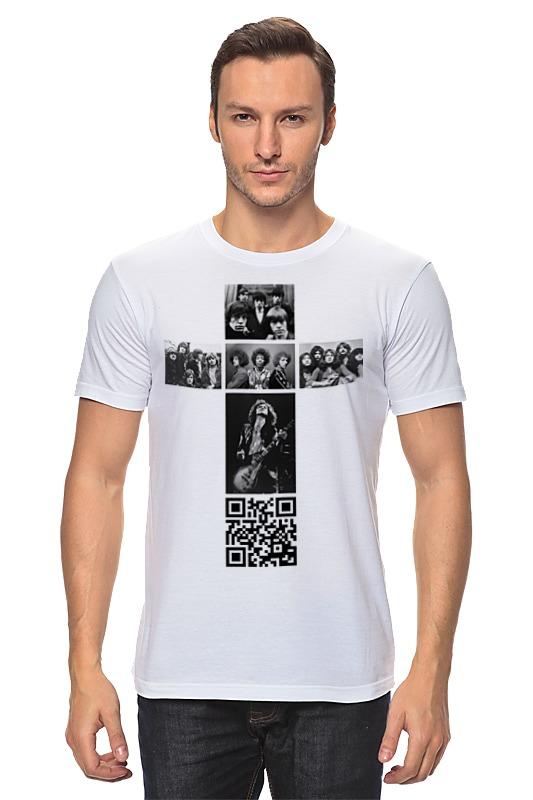 Футболка классическая Printio Крест рокера футболка классическая printio unforgettable experience tees