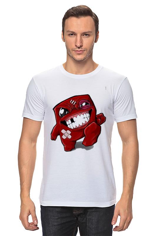 Футболка классическая Printio Super meat boy super meat boy [pc цифровая версия] цифровая версия