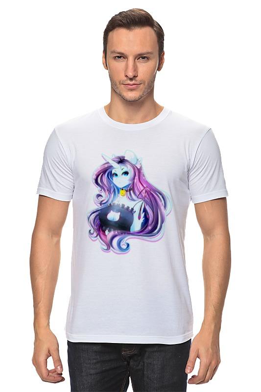 Футболка классическая Printio My little pony: рарити-девушка девушка из джерси