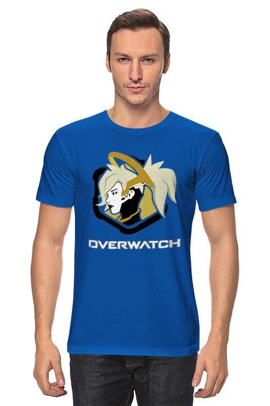 цена Printio Overwatch angel онлайн в 2017 году