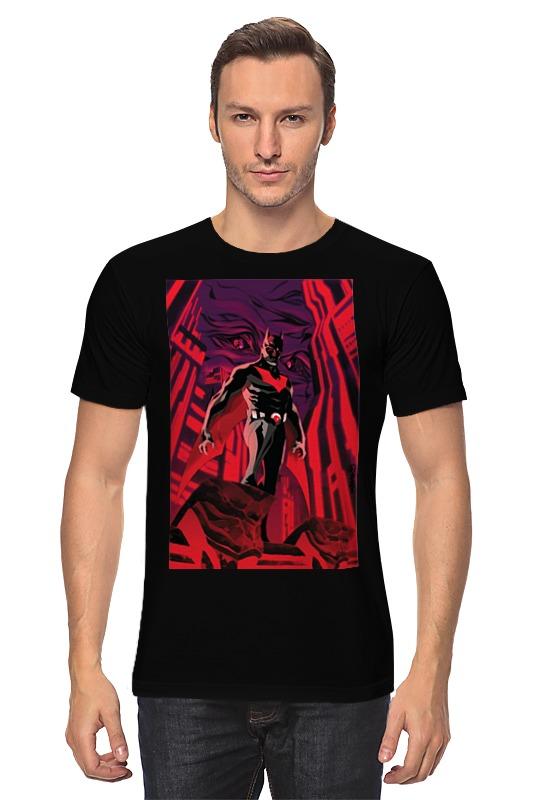 Футболка классическая Printio Batman beyond / бэтмен будущего ostin футболка с новогодним принтом