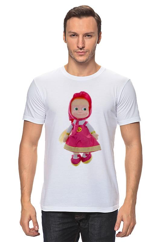 Printio Кукла-девочка маша из мульта. смешная озорная. футболка классическая printio кукла девочка маша и миша смешные озорные