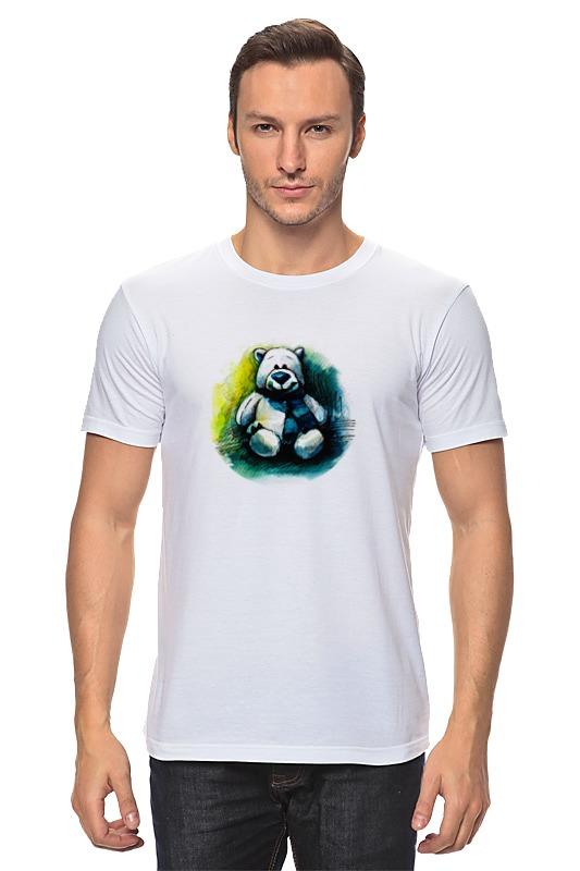Футболка классическая Printio Медведь плюшевый