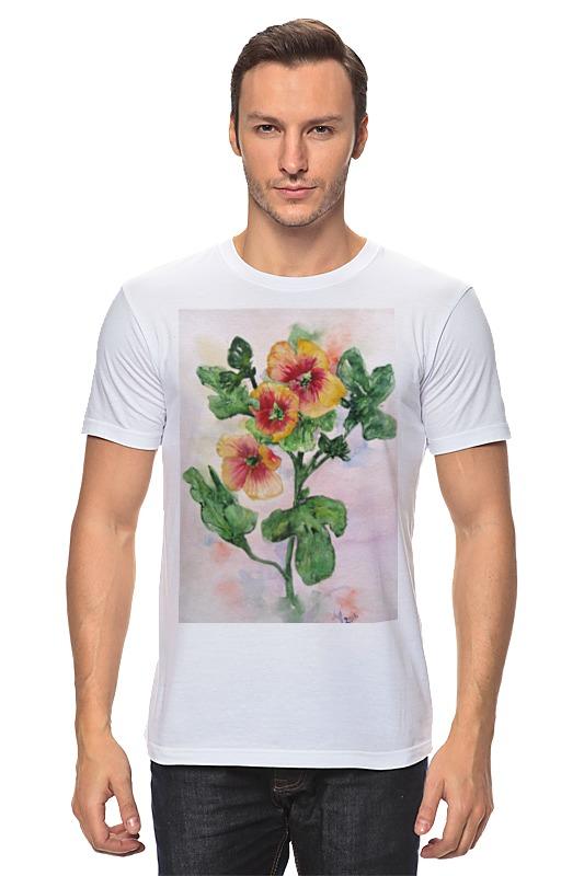 Футболка классическая Printio Солнечная мальва футболка классическая printio муравьед с цветами