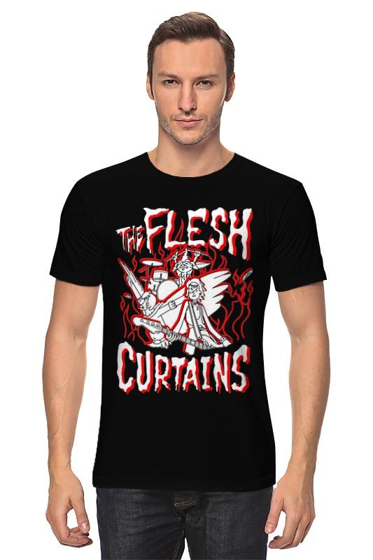 Футболка классическая Printio Рик и морти. the flesh curtains live flesh