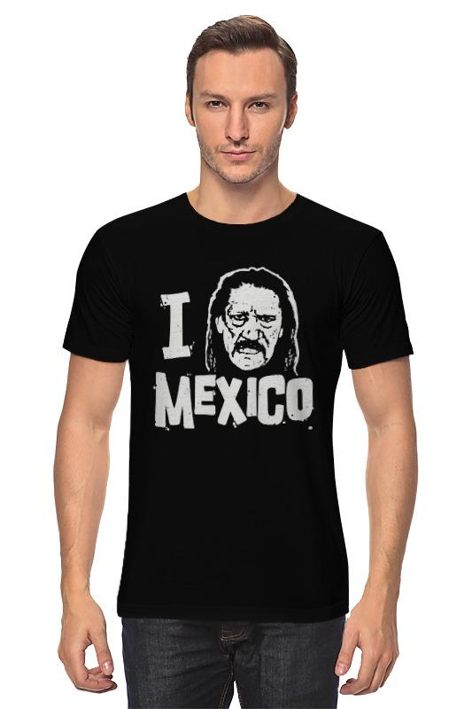 Футболка классическая Printio Люблю мексику цена и фото