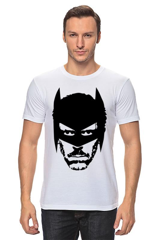 Футболка классическая Printio Доктор хаус в маске бэтмена цена