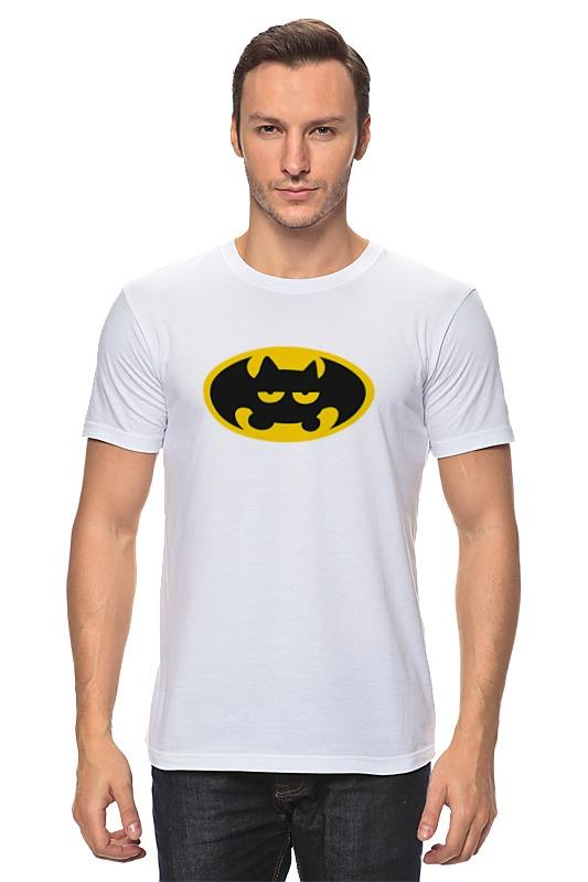 Футболка классическая Printio Летучая мышь (бэтмен)