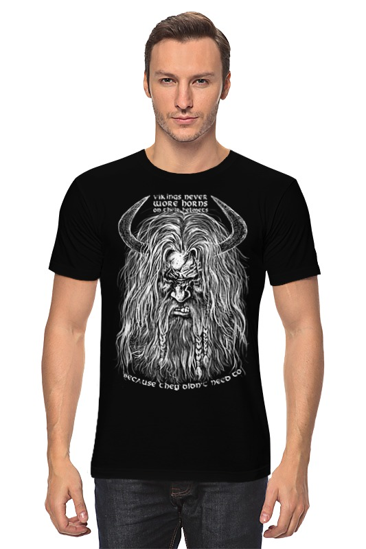 Футболка классическая Printio Викинг футболка классическая printio веселый викинг