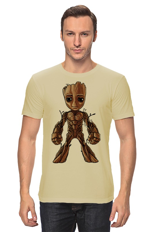 Футболка классическая Printio I am groot (guardians of the galaxy) брелок funko pop marvel guardians of the galaxy – baby groot
