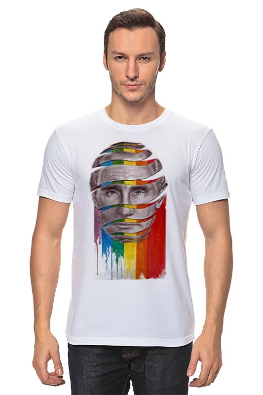 Футболка классическая Printio Путин с лгбт футболка лгбт