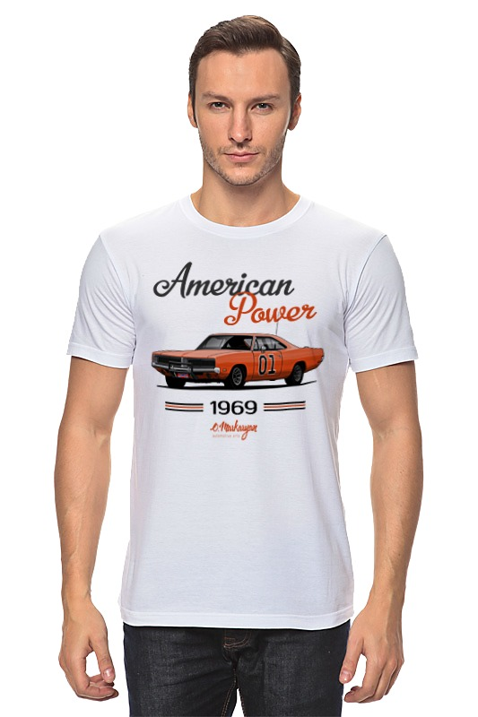 Printio Dodge charger general lee цена и фото