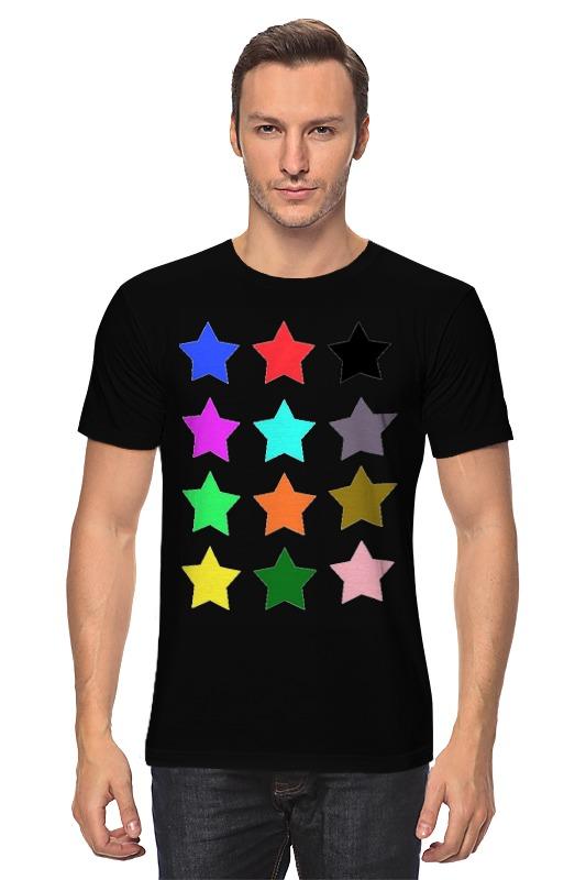 Футболка классическая Printio stars on the black пробковый пол corkstyle adventures stars black