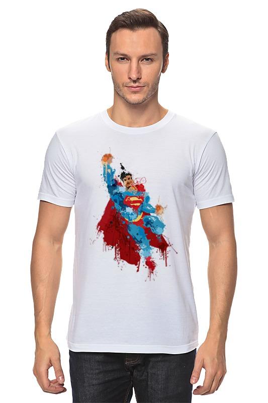 Футболка классическая Printio Супермен джерри маллиган пол десмонд джо бенжамин дейв бейли gerry mulligan