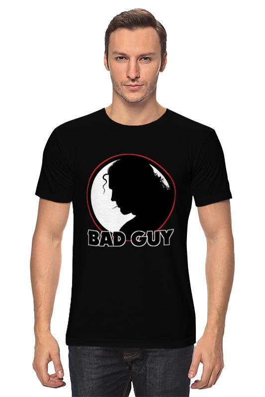 Футболка классическая Printio Плохой парень футболка классическая printio плохой парень