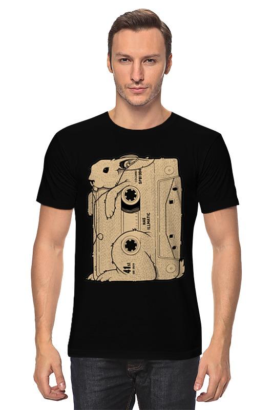 Футболка классическая Printio Rabbit cool mix / крутой кроличий микс футболка с полной запечаткой для мальчиков printio rabbit cool mix крутой кроличий микс