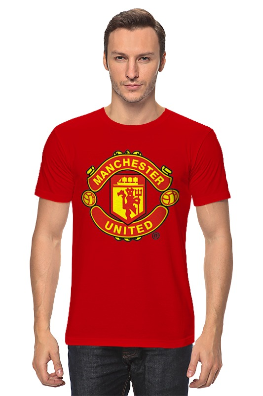 Футболка классическая Printio Manchester united 1878 hardy caprio manchester