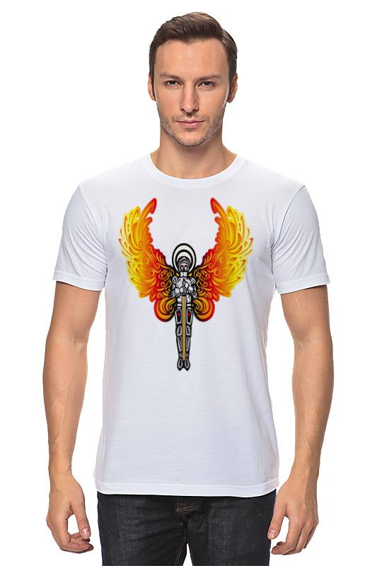 Футболка классическая Printio Ангел футболка классическая printio ангел и кот