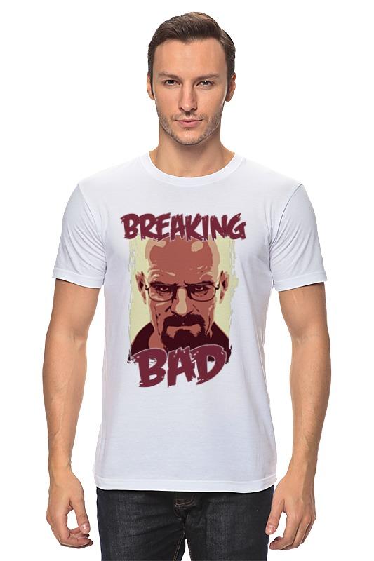 Футболка классическая Printio Breaking bad | во все тяжкие футболка классическая printio yeah science bitch breaking bad