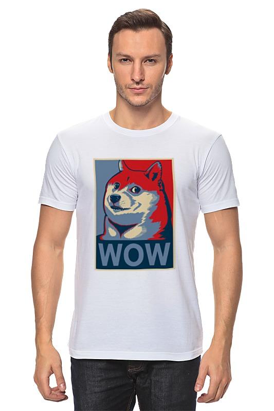 Футболка классическая Printio Wow doge футболка print bar wow