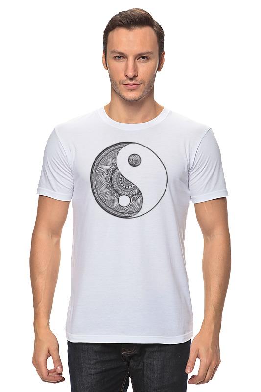 Футболка классическая Printio Инь и ян футболка с полной запечаткой мужская printio инь ян