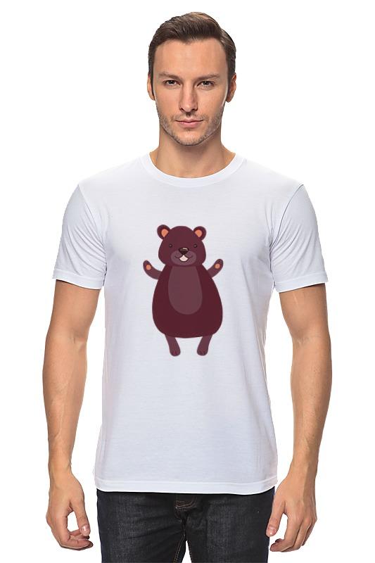 Футболка классическая Printio Мишка футболка классическая printio белый мишка