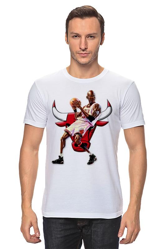 Футболка классическая Printio Michael jordan cartooney футболка jordan