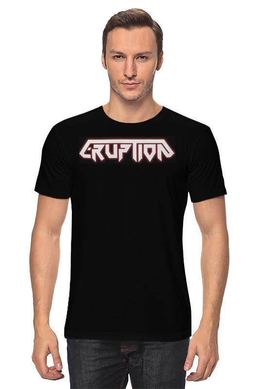 Футболка классическая Printio Eruption thrash metal band майка классическая printio eruption thrash metal band