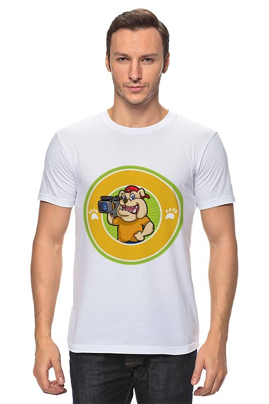 Printio Пёс-оператор футболка с полной запечаткой для мальчиков printio пёс оператор