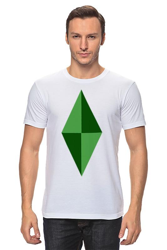 Футболка классическая Printio Кристал (симс) футболка print bar симс