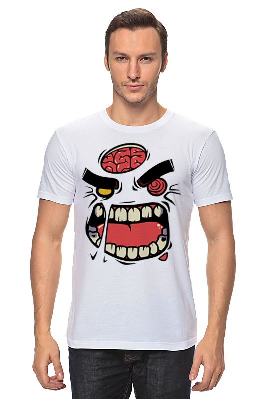 Printio Монстр (зомби) детская футболка классическая унисекс printio монстр зомби