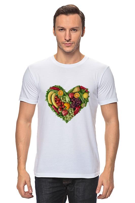 Футболка классическая Printio Fruit heart