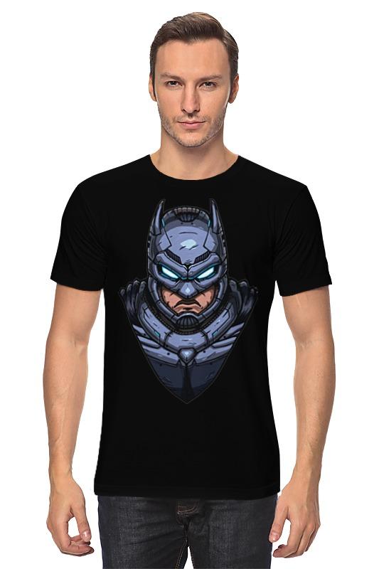 Футболка классическая Printio Armored batman / бэтмен в броне толстовка wearcraft premium унисекс printio armored batman бэтмен в броне